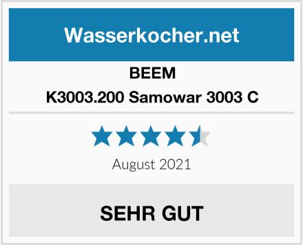 BEEM K3003.200 Samowar 3003 C Test
