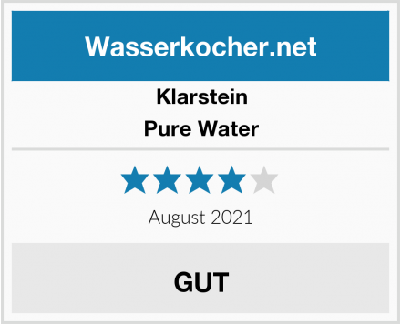 Klarstein Pure Water Test