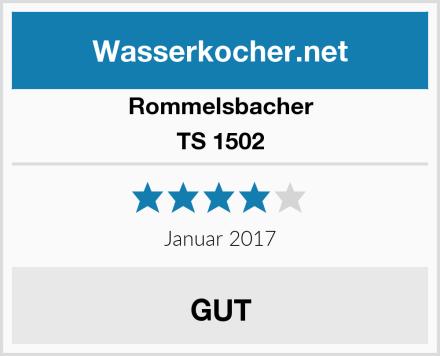 Rommelsbacher TS 1502 Test
