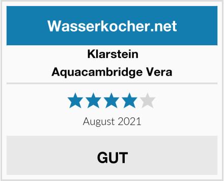 Klarstein Aquacambridge Vera Test