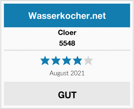 Cloer 5548 Test