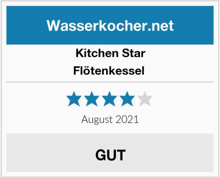Kitchen Star Flötenkessel  Test