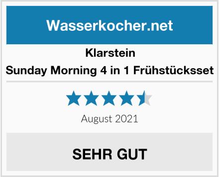 Klarstein Sunday Morning 4 in 1 Frühstücksset Test