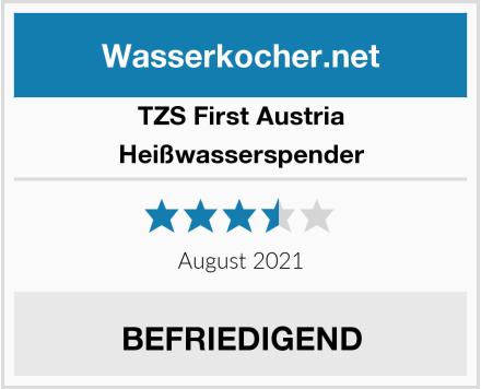 TZS First Austria Heißwasserspender Test
