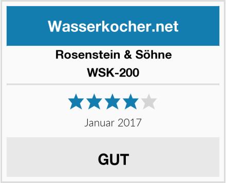 Rosenstein & Söhne WSK-200 Test