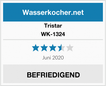 Tristar WK-1324 Test