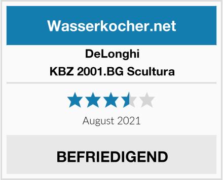 DeLonghi KBZ 2001.BG Scultura Test