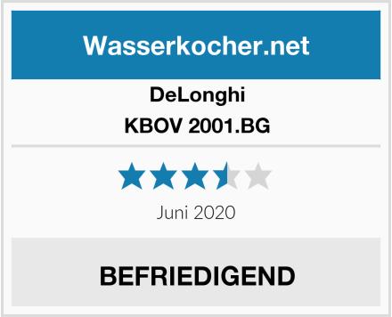 DeLonghi KBOV 2001.BG Test