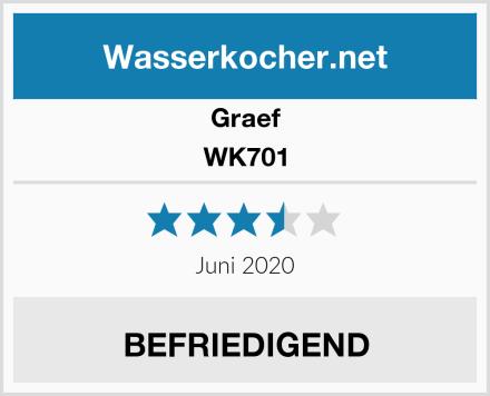 Graef WK701 Test