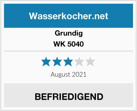 Grundig WK 5040 Test