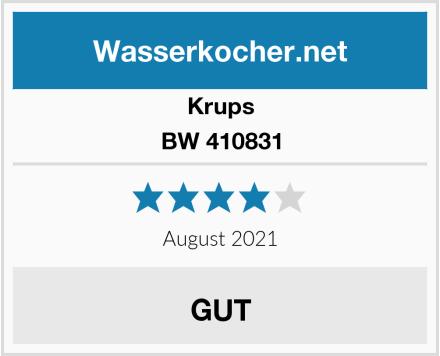 Krups BW 410831 Test