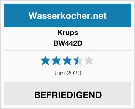 Krups BW442D Test