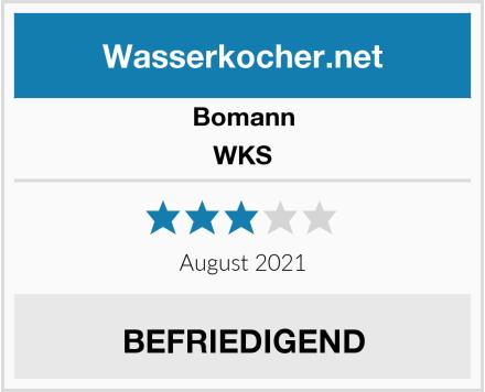 Bomann WKS Test