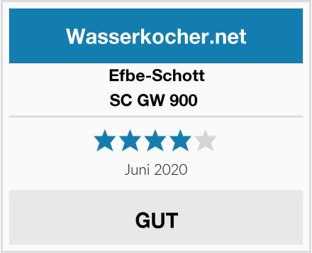 Efbe-Schott SC GW 900  Test