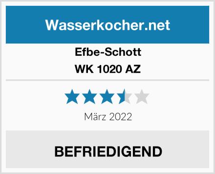 Efbe-Schott WK 1020 AZ Test