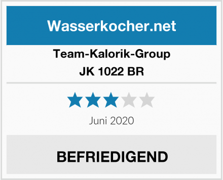 Team-Kalorik-Group JK 1022 BR Test