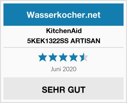 KitchenAid 5KEK1322SS ARTISAN Test