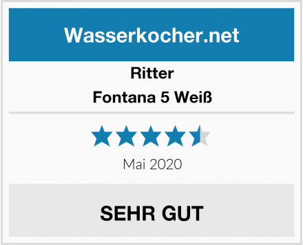 Ritter Fontana 5 Weiß Test