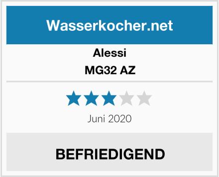 Alessi MG32 AZ Test