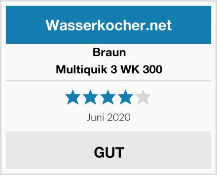 Braun Multiquik 3 WK 300 Test