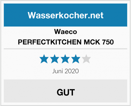 Waeco PERFECTKITCHEN MCK 750 Test