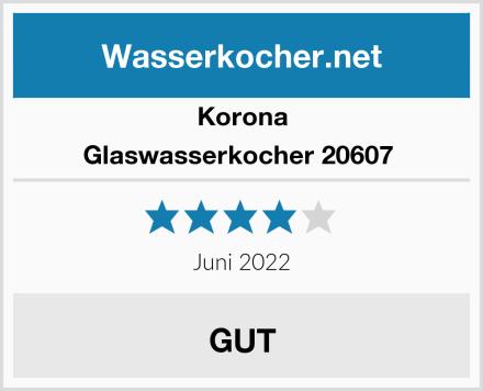 Korona Glaswasserkocher 20607  Test