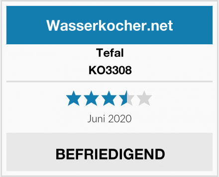 Tefal KO3308 Test