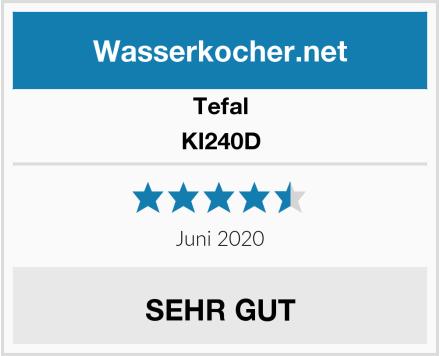 Tefal KI240D Test