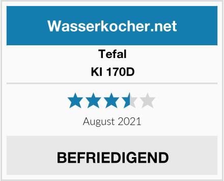 Tefal KI 170D Test