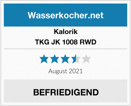 Kalorik TKG JK 1008 RWD Test