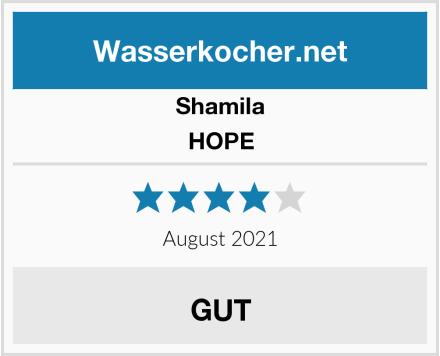 Shamila HOPE Test
