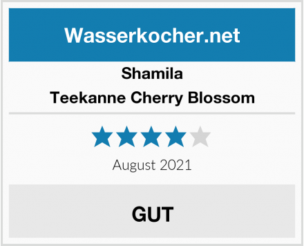 Shamila Teekanne Cherry Blossom Test