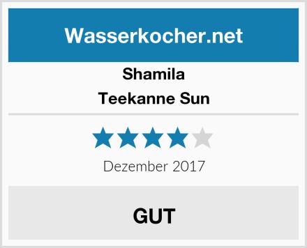 Shamila Teekanne Sun Test