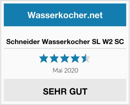 No Name Schneider Wasserkocher SL W2 SC Test