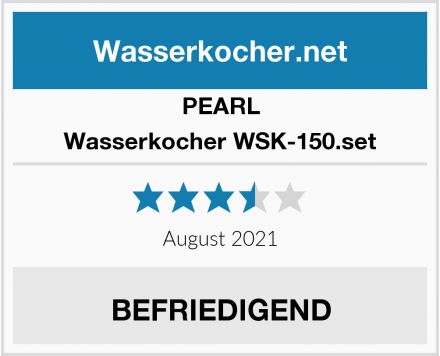 PEARL Wasserkocher WSK-150.set Test