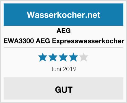 AEG EWA3300 AEG Expresswasserkocher Test