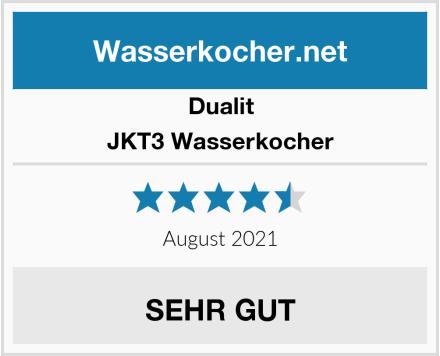 Dualit JKT3 Wasserkocher Test