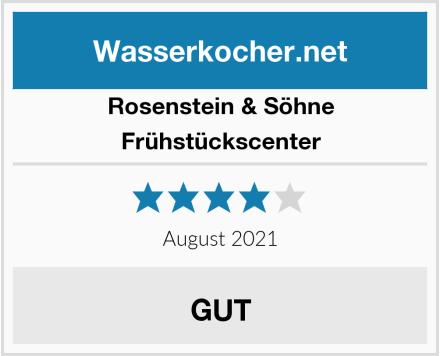 Rosenstein & Söhne Frühstückscenter Test