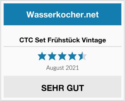 No Name CTC Set Frühstück Vintage Test