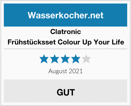 Clatronic Frühstücksset Colour Up Your Life Test