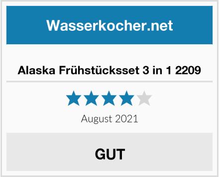 Alaska Frühstücksset 3 in 1 2209 Test