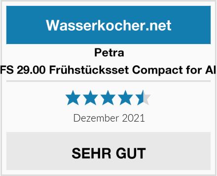 Petra FS 29.00 Frühstücksset Compact for All Test