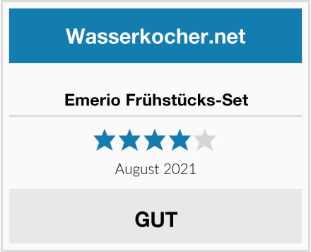 No Name Emerio Frühstücks-Set Test