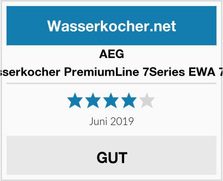 AEG Wasserkocher PremiumLine 7Series EWA 7800 Test