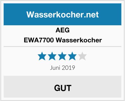 AEG EWA7700 Wasserkocher Test