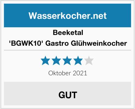 Beeketal 'BGWK10' Gastro Glühweinkocher Test