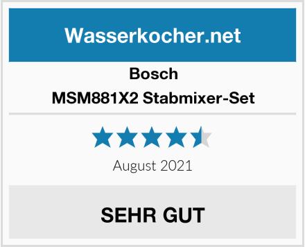 Bosch MSM881X2 Stabmixer-Set Test