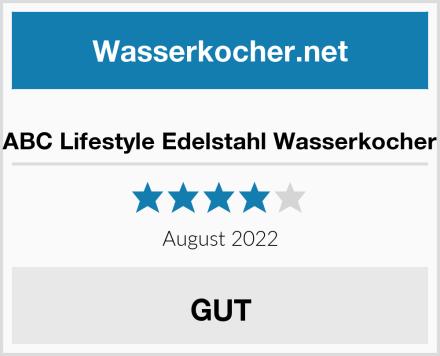 ABC Lifestyle Edelstahl Wasserkocher Test