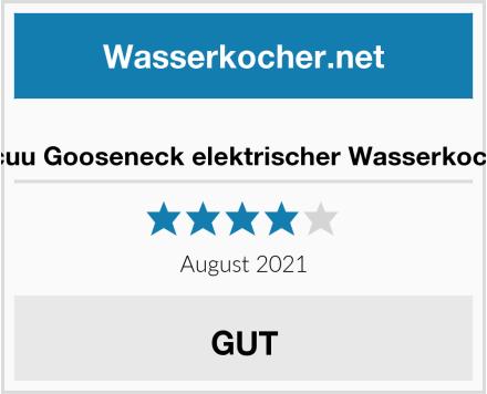 Jocuu Gooseneck elektrischer Wasserkocher Test