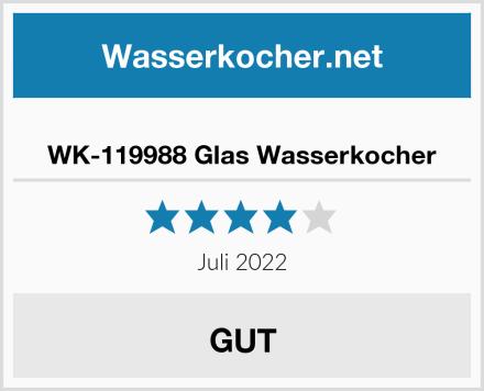 WK-119988 Glas Wasserkocher Test